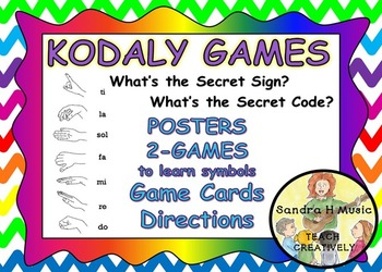 KODALY *GAME *PRINTABLES *POSTERS *DIRECTIONS