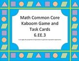 Kaboom!!! Combine Like Terms Game/Task Cards (6.EE.3)