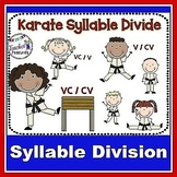 Karate Syllable Divide: Activities for VCV and VCCV division