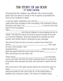 """Kate Chopin """"The Story of an Hour"""" Worksheet for Modifiers"""