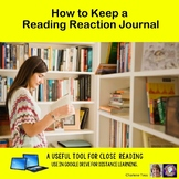 Keeping a Reading Reaction Journal
