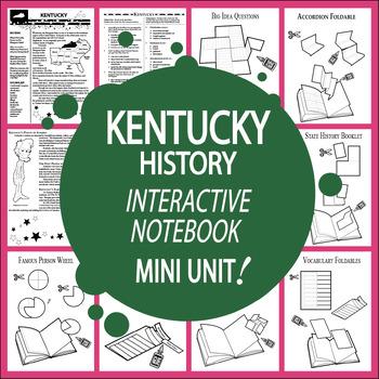 Kentucky Mini Unit-Interactive Notebook Activities-Audio I