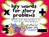 Key Words for Story Problems