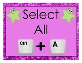 Keyboard Shortcuts Posters