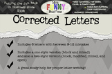 Keyboarding - Business Letters - Corrected Letters