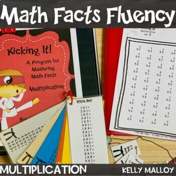 Math Facts - Multiplication Fact Fluency Program - Kicking It Math