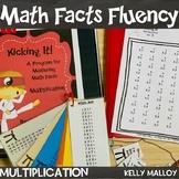 Math Facts - Multiplication Fact Fluency Program - Kicking