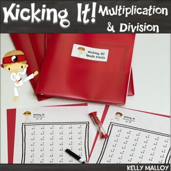 Math Facts Multiplication & Division Fact Fluency Program BUNDLE Kicking It Math