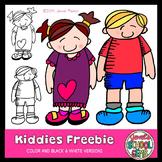 Kiddies Freebie (Kids Clip Art)