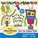 Kids One Wheeled Robots