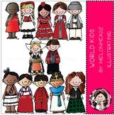 Kids of the world by Melonheadz