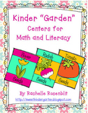 "Kinder-""Garden"" Plant Centers for Math and Literacy"
