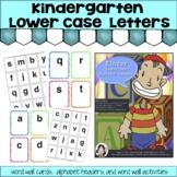 Kinder Lowercase Alphabet Letters