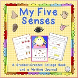 My Five Senses - A Student-Created Collage Book and Writin