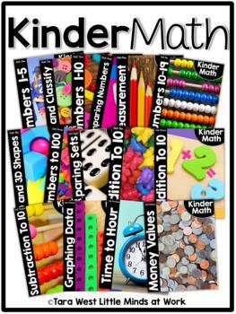 KinderMath Units Growing BUNDLE
