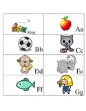 Kindergarten ABC Ring Book