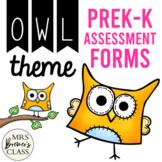 Kindergarten Assessment Pack {Owl Themed}