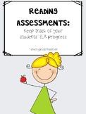 Kindergarten AssessmentKindergarten Assessment {Beginning
