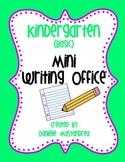 Kindergarten (Basic) Mini Writing Office