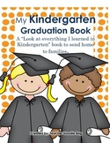 "Kindergarten Graduation Book ""Show What I Know"""