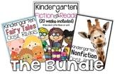 Kindergarten Close Reads BUNDLED {50 weeks included}