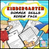 Summer Review Pack for Kindergarten
