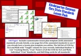 Kindergarten Common Core Lesson Pack