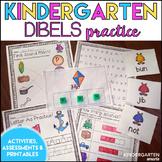Kindergarten DIBELS Practice with printable worksheets!