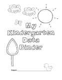 Kindergarten Data Binder for Math and Literacy