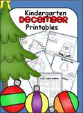 Kindergarten December Math and ELA Unit