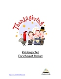 Kindergarten Enrichment Packet for Thanksgiving