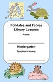 Kindergarten Folktales & Fables Genre Study (Activity Book