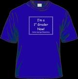 Kindergarten Graduation to 1st Grade Tee Shirt