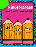 Kindergarten Guided Reading Lesson Plan Book-  Aligned to