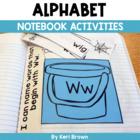 Kindergarten Interactive Alphabet Notebook