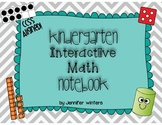 Kindergarten Interactive Math Notebook - CCSS Aligned!