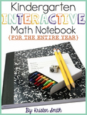 Kindergarten Interactive Math Notebook- The Entire Year!