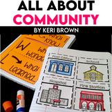 Kindergarten Interactive Science Notebook {Theme: Community}