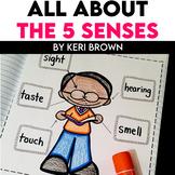 Kindergarten Interactive Science Notebook {Theme: Five Senses}