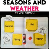 Kindergarten Interactive Science Notebook {Theme: Seasons