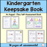 Kindergarten Keepsake Assessment Book
