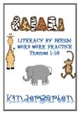 Kindergarten LBD Word Work Classroom Resources