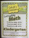 Kindergarten Math Journals - HARD COPY