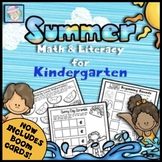 Kindergarten Math and Literacy for Summer (No Prep!)