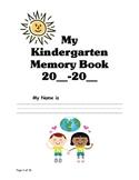 Kindergarten Memory Book JH