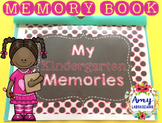 Memory Book for Kindergarten EOY
