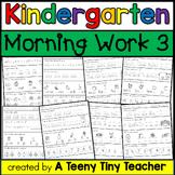 Kindergarten Morning Work {continued} - Daily Language Art