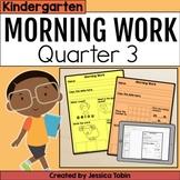 Morning Work Kindergarten 3rd Quarter