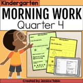 Morning Work for Kindergarten Common Core 4th Quarter