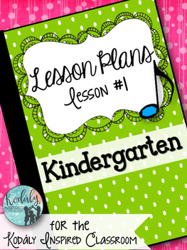 Kindergarten Music Lesson Plan {Day 1}